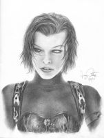 Milla Jovovich by crushinator734