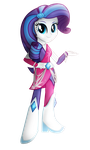 EqG - Rarity by WildSoulWS