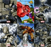 Marvel Heroes and Villains 20 by RichardCox