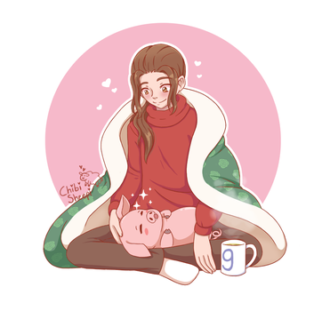 Cosy Saturday with Gregor and Dont by ChibiSheepi