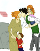 Little Kisses - HP by HoleySaintGeorge