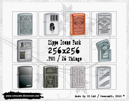 Zippo Icons Pack by conzumir