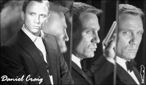 Daniel Craig is James Bond by koroxx