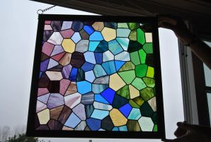 Stained Glass - First Attempt Completed by warpeddesire