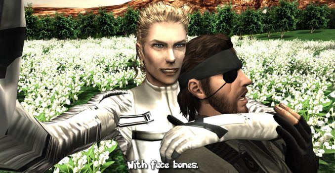 MGS3 models w/ face rigged! by MichaelJordy