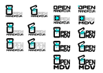 OpenMDV-Logo_Black by blogdrakeart