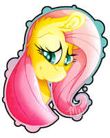 MLP: Canon: Fluttershy by Mychelle