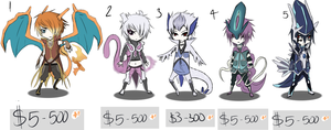 Gijinka Adopts 1 by Tamnyan