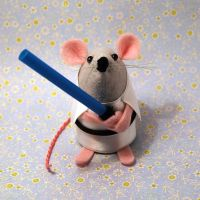Luke Skywalker Mouse by The-House-of-Mouse