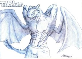 Toothless The Anthro by 47Reaperz