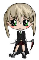 Chibi Maka by IcyPanther1