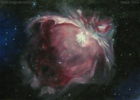 The Great Orion Nebula by Kihara-Quagga