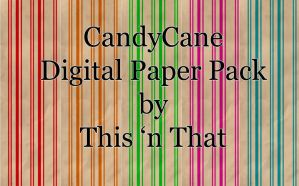 CandyCane Paper Pack by DesiraeR