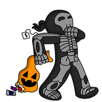 Tick Or Treat: Costumed Chase by TheArgoNinja