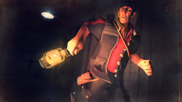 {SFM} Running from the Unknown by deadlysupia
