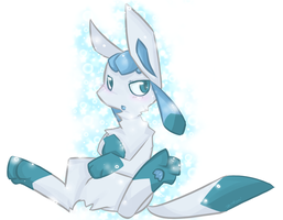Shiny Glaceon by Starl