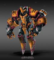 Thrash Type A Exosuit by EnigmaticEnigma