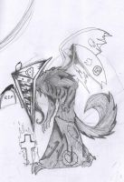 Pyramid Head werewolf 2 by deidara1231