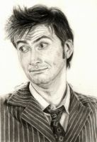 Doctor Who Tennant by LMRourke