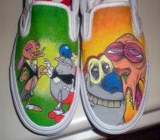 Ren and Stimpy by Cerpin23