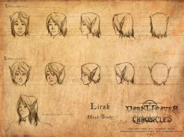 Lirsk Head Study by Mytherea