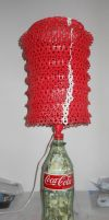 Custom Coca-Cola Lamp II by lizking10152011