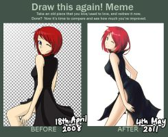 before and after meme by jeiko-chan