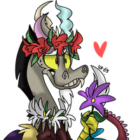Discord's Flowers by Dizzee-Toaster