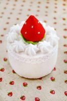 Strawberry Cream Cake by li-sa