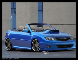 Subaru Impreza STi Roadster by chopperkid44