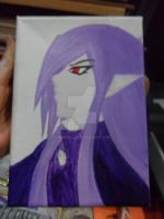 on canvas - Lord Vaati - half way done by Mirria1
