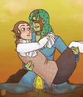 Shall i carry you, Olivier? by Monipue