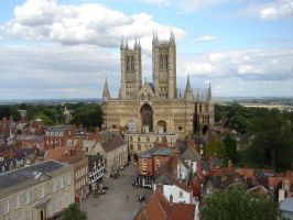 Lincoln Cathedral 004 by presterjohn1