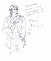 Fifth Doctor by UncleKasu