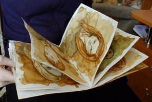 the book arts in Harry Potter by Galinaxsim