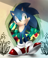Sonic by Unichrome-uni