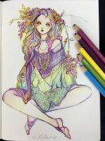 Hippy Girl by Hellobaby