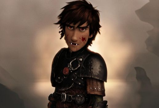 Vampire Hiccup  (Happy Late Halloween) by LinkGirl134