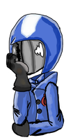 just a casual cobra commander doodle by Shakenmechanic