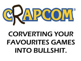 CRAPCOM by BlueStrikerBomber