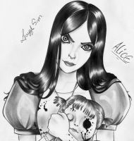 Alice Madness Returns by LayzeMichelle