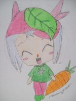 Cute Lil Chibi Carrot by Strawberry-of-Love