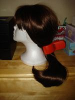 My Arrietty Cosplay Wig and Hairclip! by XAnimeDubberX