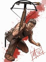 The Walking Dead - Daryl Dixon by semie