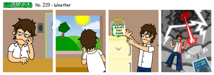 EWCOMIC No. 219 - Weather by eddsworld