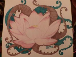 Lotus Flower~ by CrazyPotatoes4Life