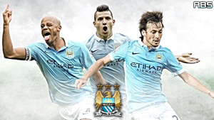 Manchester City FC Wallpaper 2015-16 by absproductions