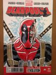 Deadpool Sketch Cover by calslayton