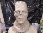 Spawn of frankenstein sculptur by Justin-Mabry
