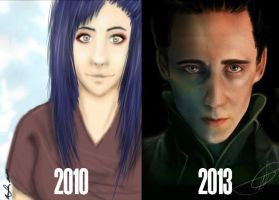 Improvement 3 years by MikachuAttack